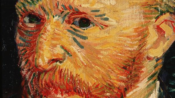 An 1887 self-portrait by artist Vincent van Gogh from the Musée d'Orsay in Paris. Another van Gogh painting was stolen from a Dutch museum early Monday morning.