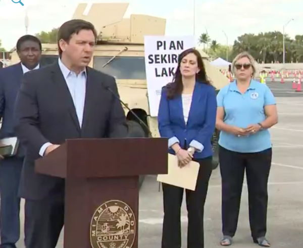 Gov. Ron DeSantis announced Monday an executive order that would codify safer at home rules in southeastern Florida, the epicenter of the coronavirus crisis in the state.