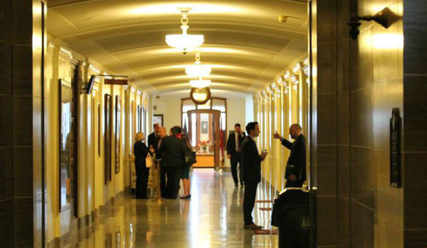 In a normal session, lawmakers would be returning to the Capitol this week to get to work on the state budget, but the coronavirus has halted the Legislature.