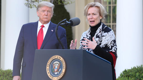 At Tuesday's briefing, Dr. Deborah Birx, the White House's coronavirus response coordinator, is expected to offer details of modeling that helped convince President Trump to extend his social distancing guidelines.