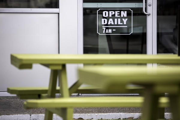 The City of Austin banned dining in at restaurants on Tuesday,