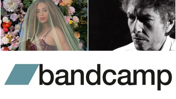 Beyoncé, Bob Dylan and Bandcamp: Highlights of this week in music news.