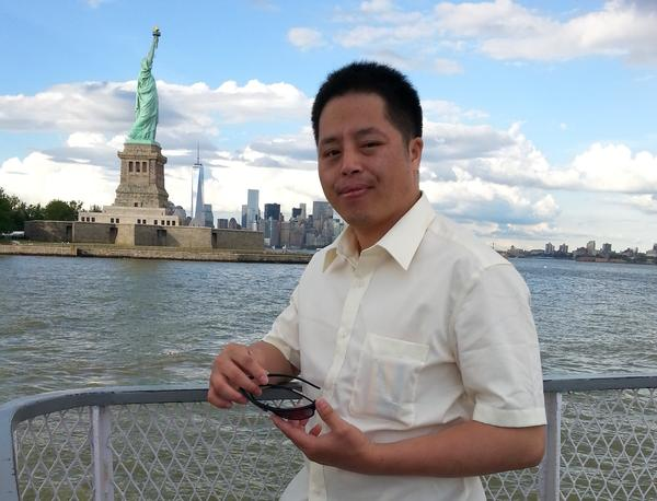 Zhuang Liehong is one of many Chinese immigrants who's made his home in the Flushing neighborhood of Queens, N.Y. Zhuang came to the U.S. seeking asylum from his village in China.