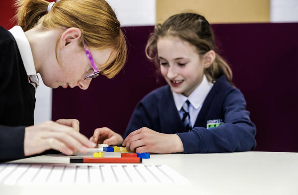 Lego Braille Bricks will feature studs with the same six-dot configurations found in the Braille alphabet, while remaining compatible with the existing bricks.
