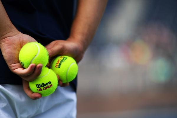 "For the ballpersons of the U.S. Open tennis tournament, footwork and athletic ability are important, but ""good focus"" is the first priority, says manager Tina Taps."