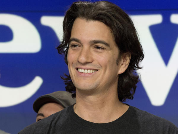 Adam Neumann, the workspace sharing company WeWork's co-founder, is quitting as CEO amid problems with the firm's initial public offering.