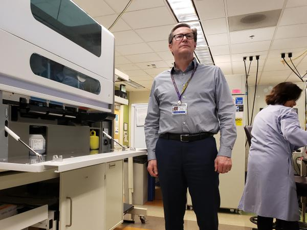 """Access to testing is really the major tool we have right now to fight this new coronavirus,"" says Dr. Keith Jerome, who runs a University of Washington lab in Seattle that can now test for the virus."