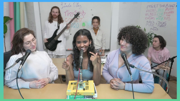 "Linda Diaz submitted the song ""Green Tea Ice Cream"" to the 2020 Tiny Desk Contest."