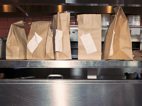 The food service industry is relying on takeout and delivery orders to keep businesses afloat and maintain effective social distancing for customers and workers.