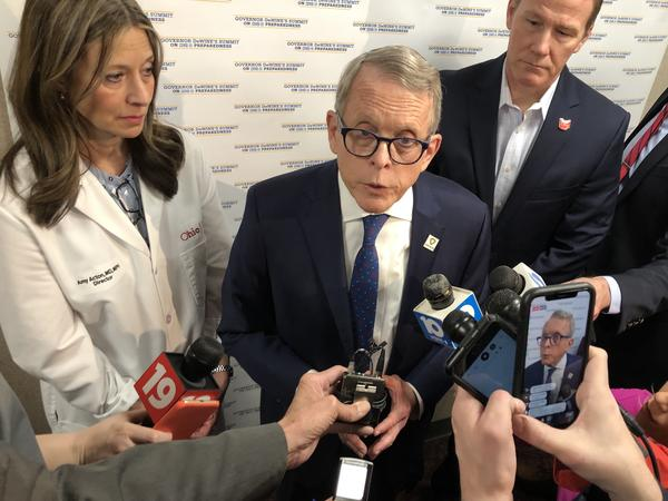 Gov. Mike DeWine issues public health order to stop the Arnold Sports Festival from allowing spectators at competitions with the exception of the Friday and Saturday evening finals.