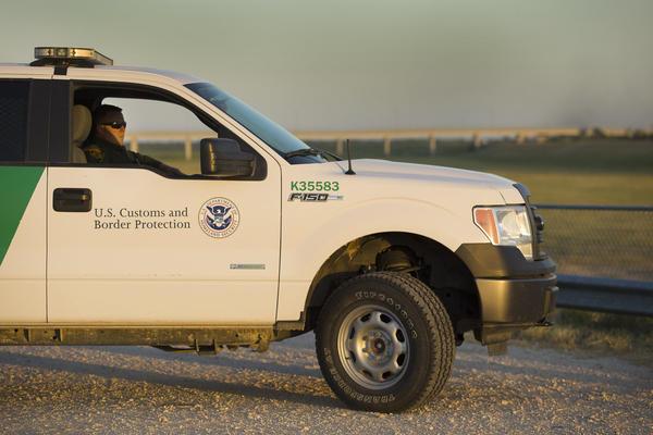 U.S. Border Patrol in McAllen, Texas.