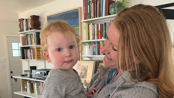 Melissa Burgess and her husband experienced symptoms of COVID-19 but weren't able to get tested, which raised concern about exposing their young son.
