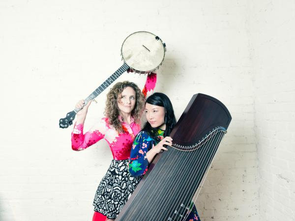 Abigail Washburn and Wu Fei are masters of Appalachian and Chinese folk music, respectively. On their self-titled debut album they combine traditional songs from across the U.S. and China.