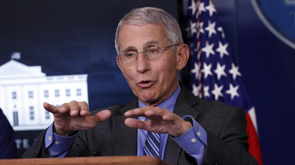 """The country can return """"to a real degree of normalcy"""" before a coronavirus vaccine is available, said Anthony Fauci, director of the National Institute of Allergy and Infectious Diseases, at the White House briefing Monday."""