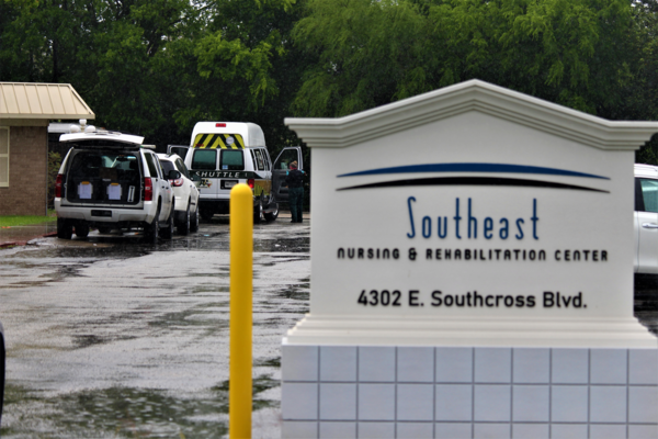 There's a COVID-19 outbreak at the Southeast Nursing & Rehabilitation Center.
