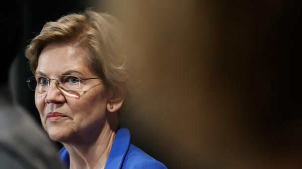"""The chaos and the attempt to suppress the vote in Wisconsin should be a wake-up call for the United States Congress,"" Sen. Elizabeth Warren told NPR. ""We need to act immediately."""