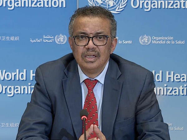"""No need to use COVID to score political points,"" World Health Organization Director-General Tedros Adhanom Ghebreyesus says. ""You have many other ways to prove yourselves."""