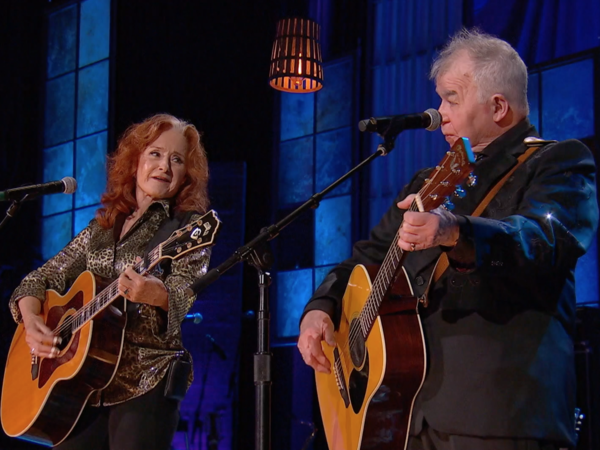 "John Prine's 2019 performance of ""Angel from Montgomery"" alongside Bonnie Raitt was one of the late Americana pioneer's iconic, genre-defining moments at the event."