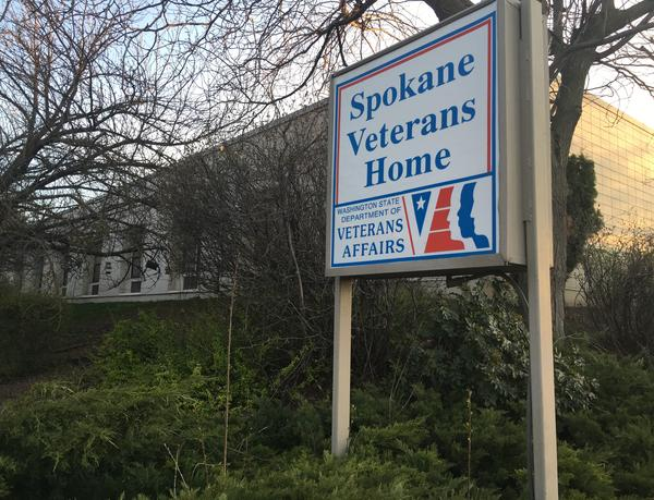 Washington's Dept. of Veterans Affairs confirmed a resident's coronavirus-related death at the Spokane Veterans Home, the first at a Washington veterans facility.