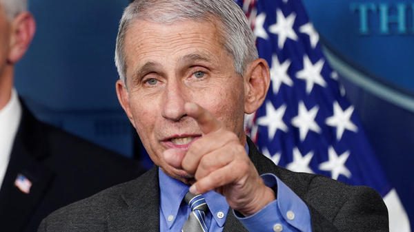 """I think the American public have done a really terrific job of just buckling down and doing those physical separation and adhering to those guidelines,"" National Institute of Allergy and Infectious Diseases Director Dr. Anthony Fauci said Thursday."