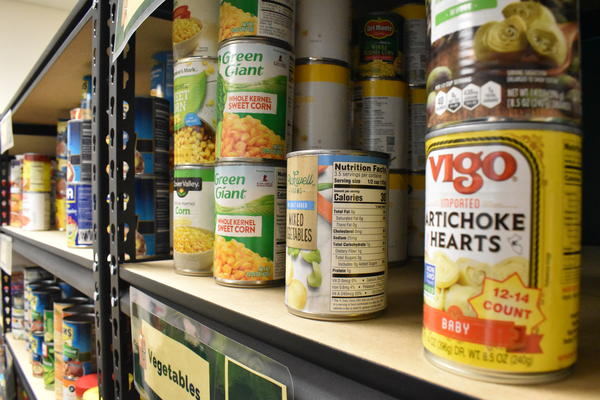 Food banks and pantries have become the source for food for many people at this time.