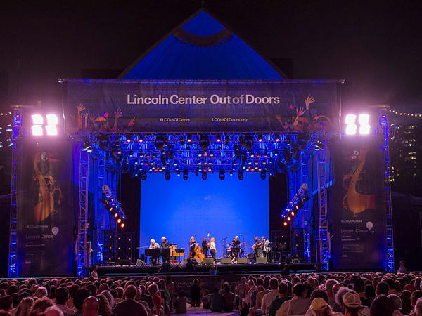 An evening concert during the 2015 edition of Lincoln Center's Out of Doors annual festival. All of the New York cultural institution's signature summer programming has been canceled for 2020.