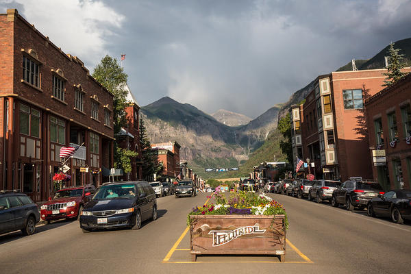 Telluride, Colo., is a ski resort town in San Miguel County in the southwestern part of the state.