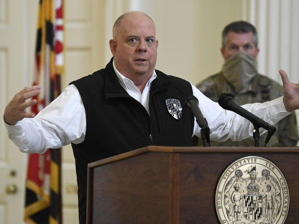 Maryland Gov. Larry Hogan and New York Gov. Andrew Cuomo are calling on Congress to approve $500 billion in budget relief for states struggling with the coronavirus.