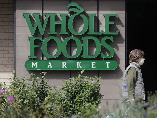 Amazon, which owns Whole Foods, says it will devote some of the grocery chain's hours to online deliveries only.