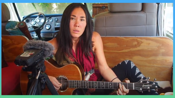 "Stacey Joy entered the song ""Can't Be Found"" for the 2020 Tiny Desk Contest"