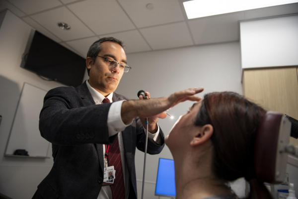 Ahmad Sedaghat is an associate professor in the University of Cincinnati College of Medicine's Department of Otolaryngology-Head and Neck Surgery and an UC Health physician specializing in diseases of the nose and sinuses.