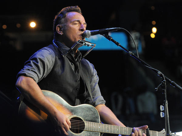 "Bruce Springsteen's song ""Radio Nowhere"" is featured in our Public Radio Music Day playlist of songs about the radio."
