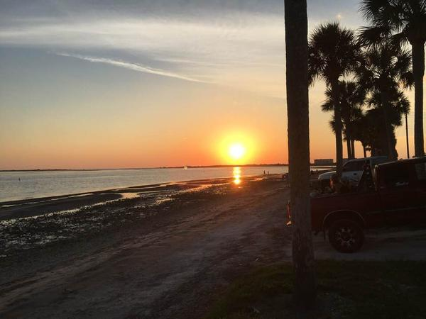 Dunedin Causeway, a popular spot to exercise and watch sunsets, is currently closed.