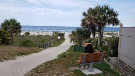 Duval County beaches are open from 6 am until 11 am, and from 5 pm until 8 pm daily