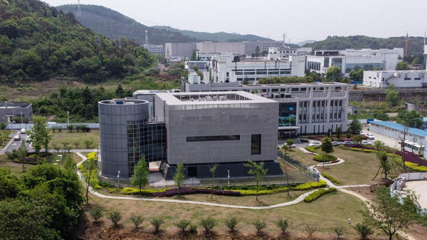 The Wuhan Institute of Virology (above) has been the focus of the lab accident theory. Scientists interviewed by NPR said that all evidence points to the pandemic not being the result of a lab accident.