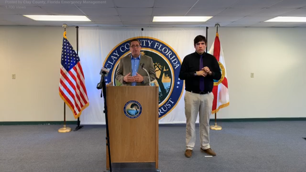 Clay County Emergency Management Director John Ward said the county is working with the Governor on a reopening plan.