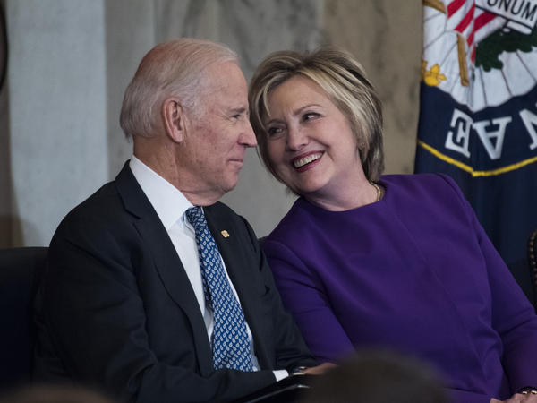 Former Secretary of State Hillary Clinton endorsed former vice president Joe Biden for president on Tuesday during a virtual town hall.