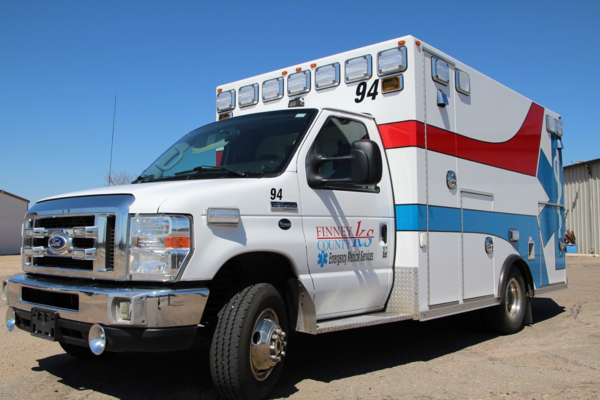 Finney County EMS staffs three ambulances and is dedicating an additional ambulance for COVID-19 patients.
