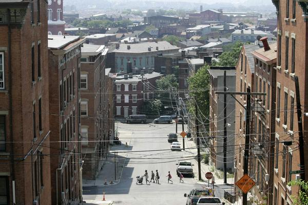 Vice Mayor Christopher Smitherman says areas like Over-the-Rhine, pictured, should be targeted for testing.