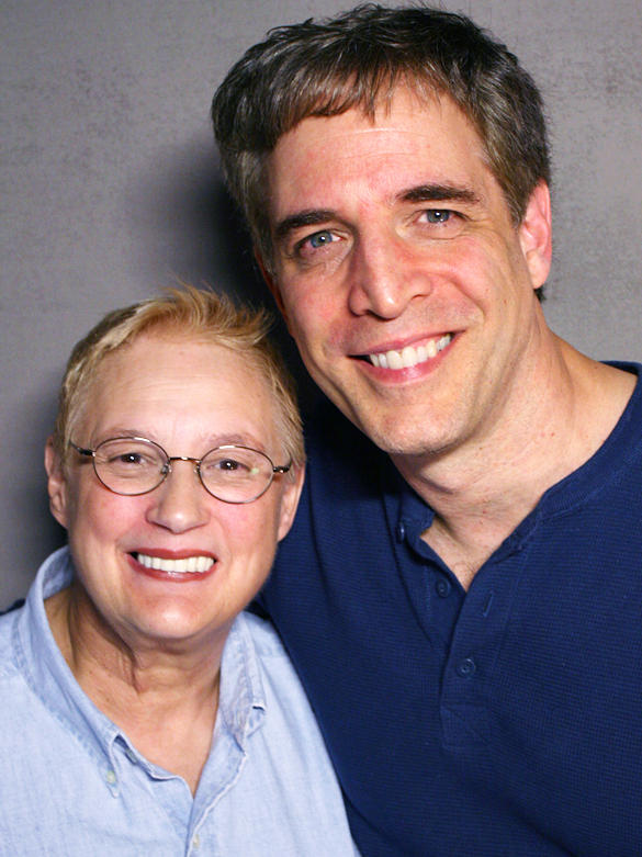 <p>Gloria Del Bianco and her nephew, Lou, talked about master stone carver Luigi Del Bianco at StoryCorps in New York.</p>