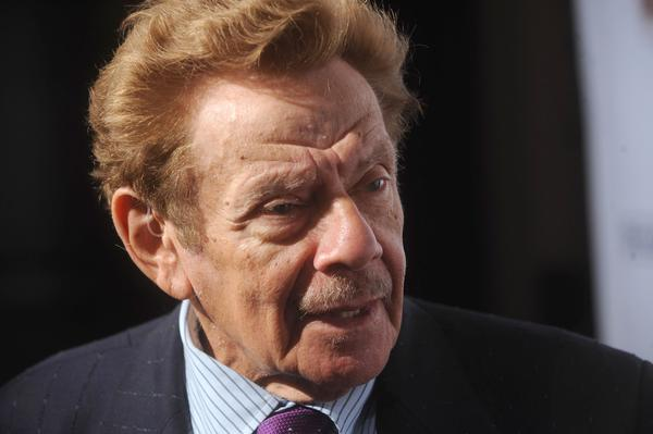 Jerry Stiller performed in a comedy duo with his wife, Anne Meara, and also appeared in films and on Broadway and television. Onscreen, he was George Costanza's father; in real life, he was dad to actor Ben Stiller. He's pictured above in New York City in October 2008.