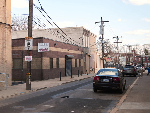 Safehouse is considering locating in this block of Hilton Street in the Kensington section of Philadelphia. The proposed facility would allow drug users to inject under medical supervision. The neighborhood is known for its drug use.