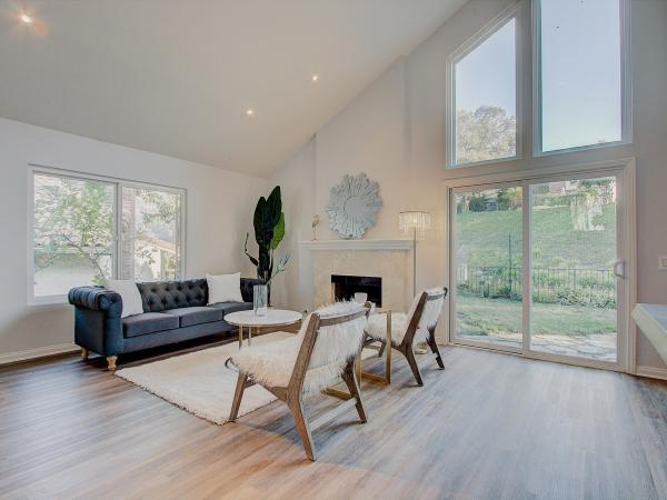 Janet Jenkins used RedfinNow, an iBuyer service, to quickly sell her home near Los Angeles. The company repainted it, spruced it up and put it back on the market for sale.