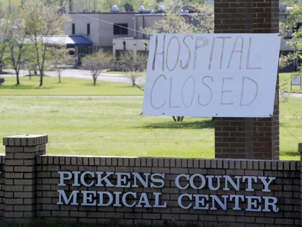 The recently closed Pickens County Medical Center in Carrollton, Ala., is one of the latest health care facilities to fall victim to a wave of rural hospital shutdowns across the U.S. in recent years. With hundreds of hospitals endangered, residents are worried about getting health care amid the coronavirus outbreak.