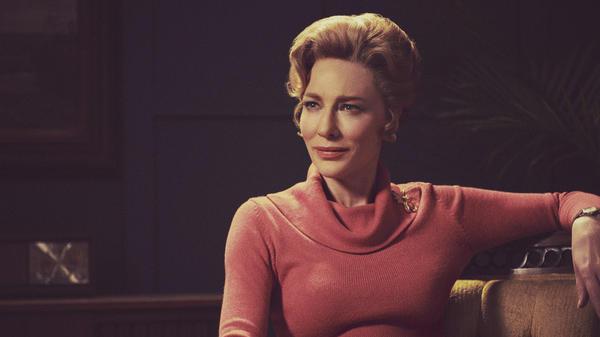 Cate Blanchett as Phyllis Schlafly in the Hulu series <em>Mrs. America</em>.