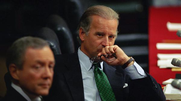 In 1993, Joe Biden, the current presumptive Democratic presidential nominee, was serving as a U.S. senator from Delaware.