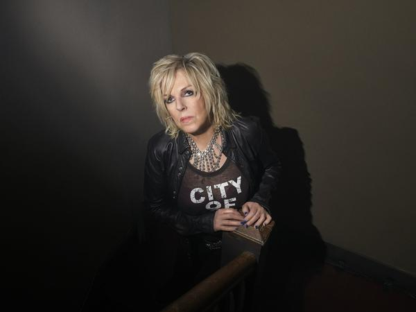 """Lucinda Williams sees her new album <em>Good Souls Better Angels</em> as part of a long line of political country music. """"Go back and listen to Woody Guthrie. It is my job, as far as I'm concerned,"""" she says."""