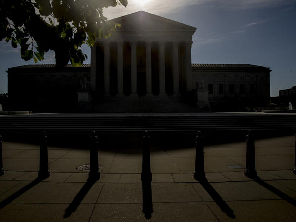 The Supreme Court's second day of arguments by phone was devoted to a new version of a case it decided seven years ago involving federal money to fight AIDS around the world.