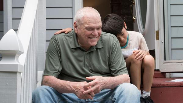 """When 8-year-old Cody (Lucas Jaye) temporarily moves into the house next door to Del (Brian Dennehy), the two strike up an unlikely, intergenerational friendship. Dennehy <a href=""""https://www.npr.org/2020/04/16/836262391/tony-award-winning-actor-brian-dennehy-has-died-at-the-age-of-81"""">died April 15 </a>at the age of 81."""