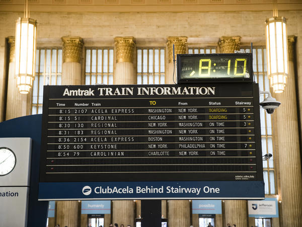 Amtrak will limit bookings to half of a train's normal capacity so passengers can maintain social distance.